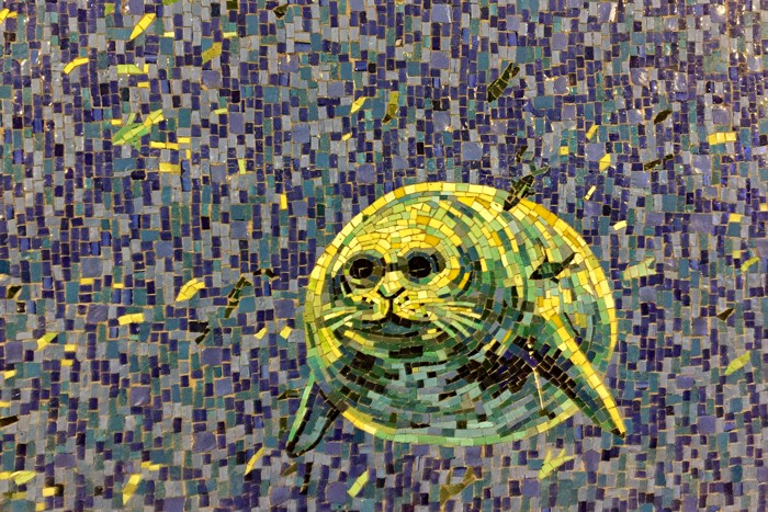 U-Bahn-Kunst Deborah Brown