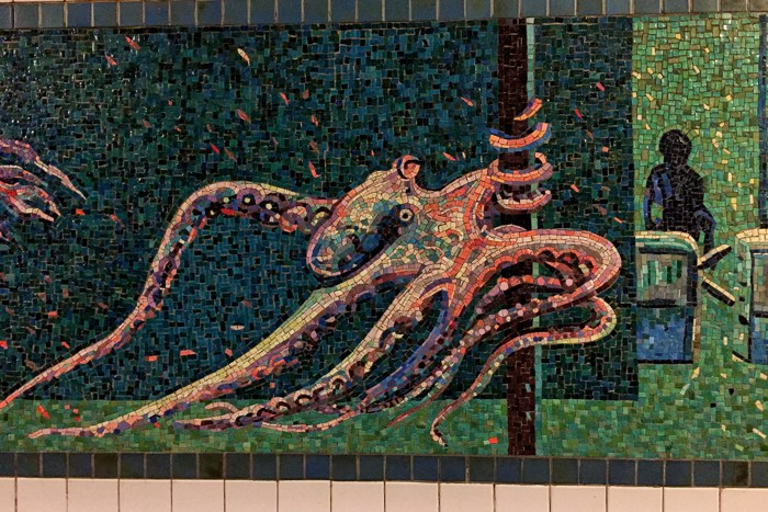 U-Bahn-Kunst Unterwasserbahnhof