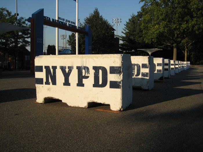 NYPD Barrikade US Open 2010