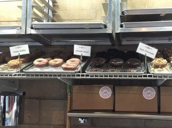 Doughnuts in der Waschstraße