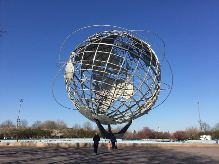 Unisphere Weltkugel New York