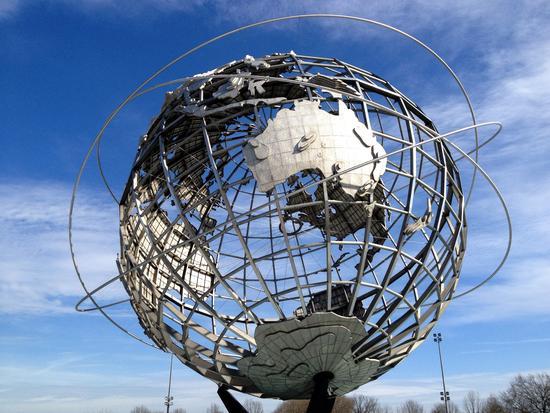 Weltkugel in New York