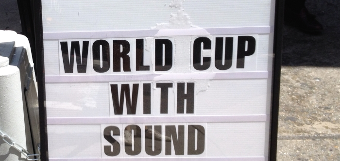 world cup with sound