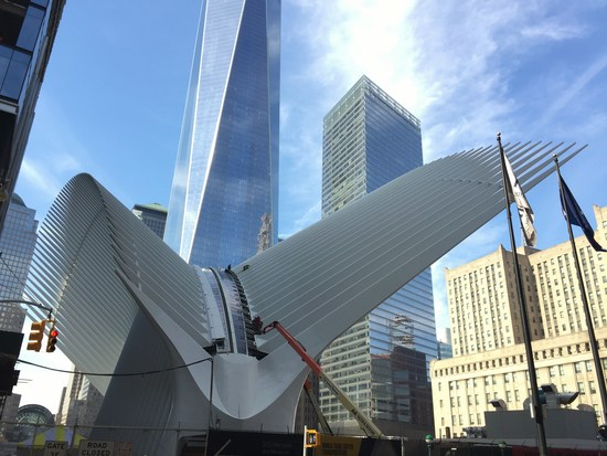World Trade Center Hub Bahnhof New York