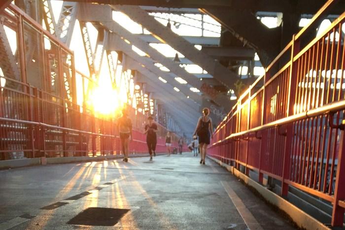 So geht New York: Laufen spazieren gehen