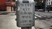 Trinkwasser New York Water Sampling Station
