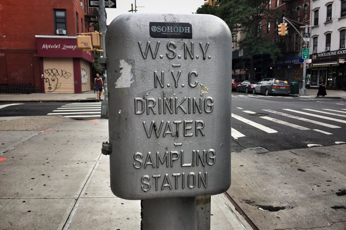 Trinkwasser New York Water Sampling Station