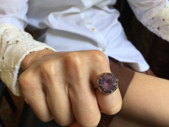 Mary Jordans spezieller Ring