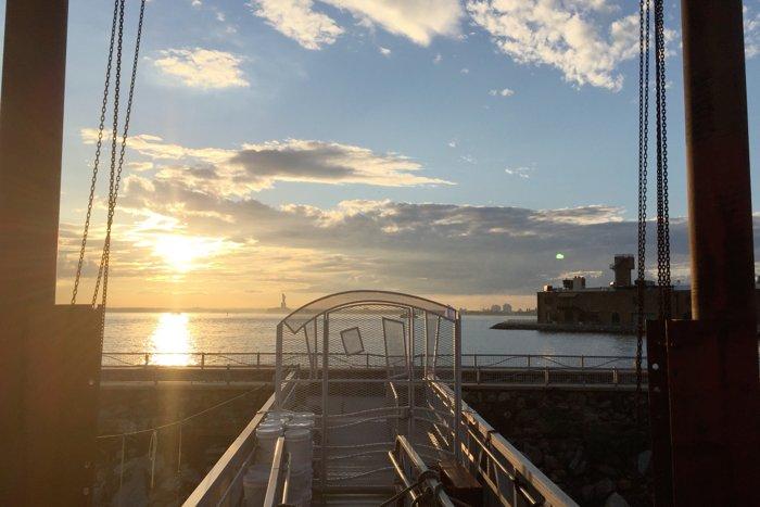 Waterfront Museum Pier