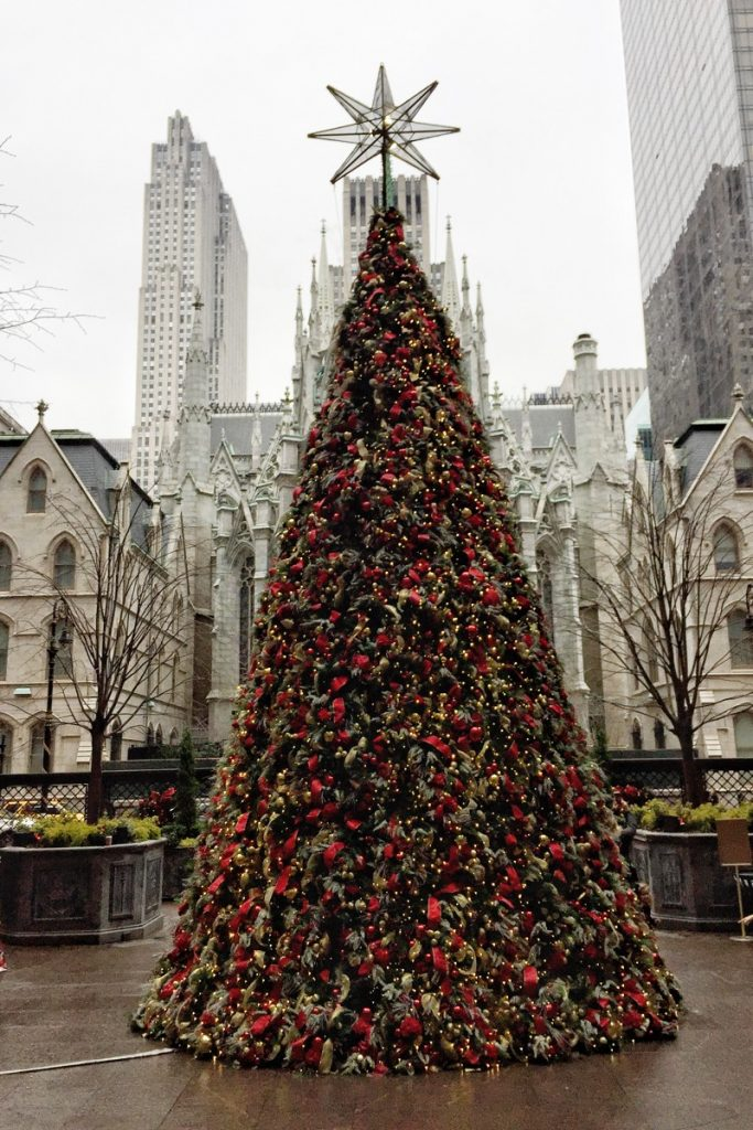 Lotte New York Plaza Christmas Tree