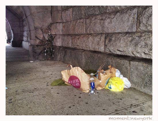 Das andere New Yorker Weihnachten: Obdachlosenlager