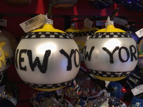 Weihnachtskugeln New York Weihnachtsmarkt 2015