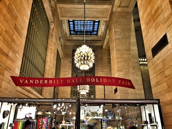 Weihnachtsmarkt 2015 in New York: Grand Central Holiday Fair