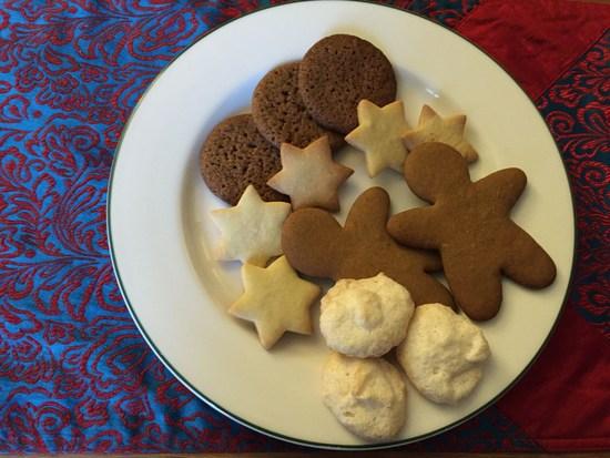 Deutsche Weihnachtsplätzchen.Weihnachtsplätzchen Amerikanisch Gingerbread Moment New York