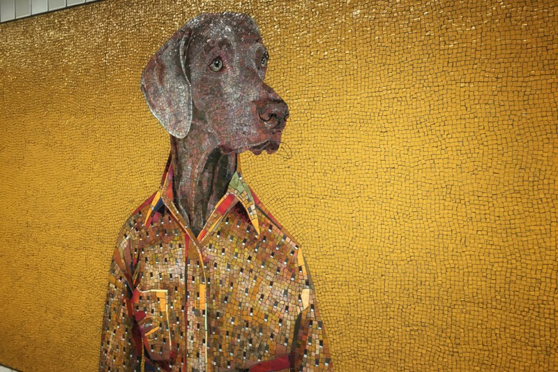 William Wegman Weimaraner New York