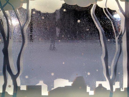 Winter in New York: Eisbahn im Bryant Park