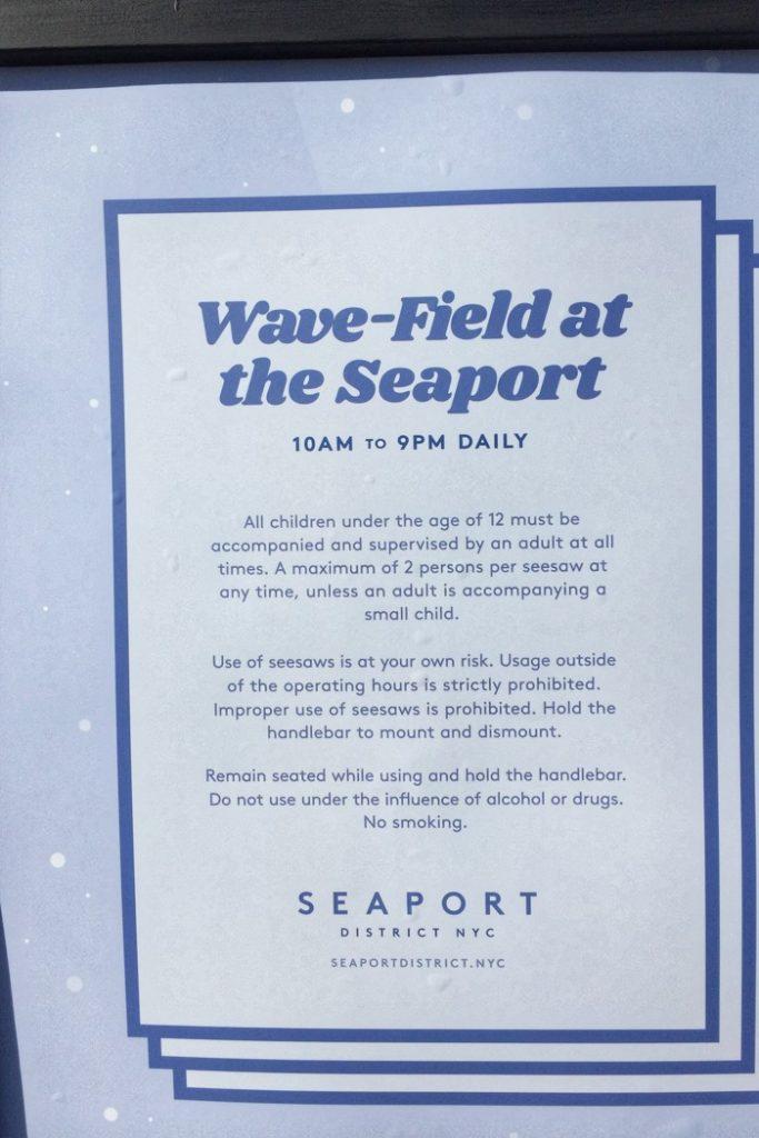 Wippen Wave-Field Regeln