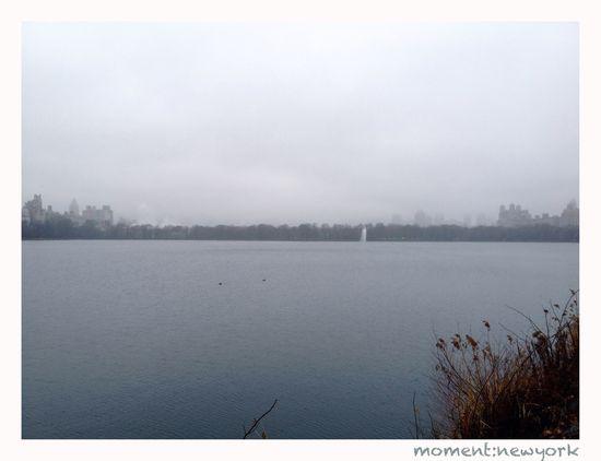 Wolkenkratzer verschwunden im Nebel