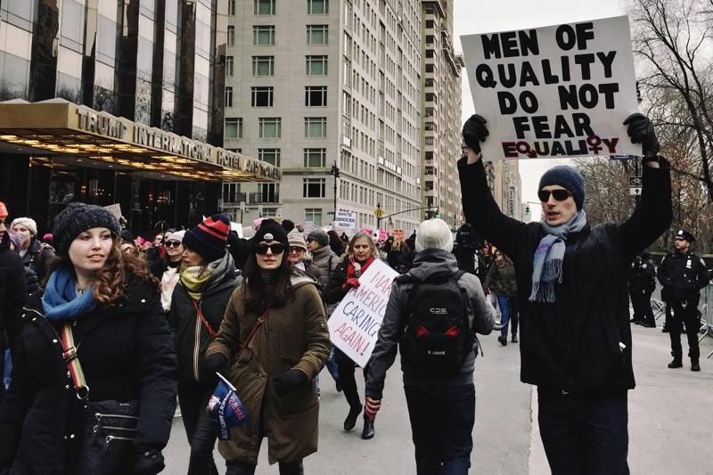 Women's March 2019 Trump Hotel
