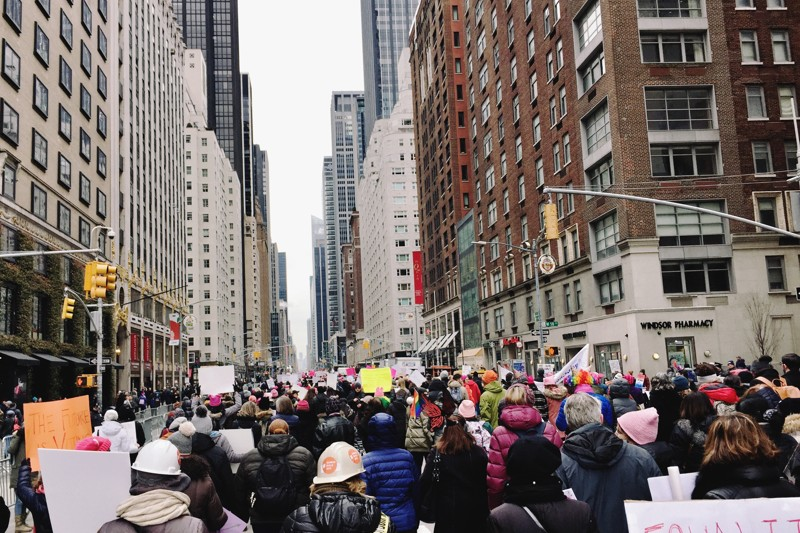 Women's March New York 2019