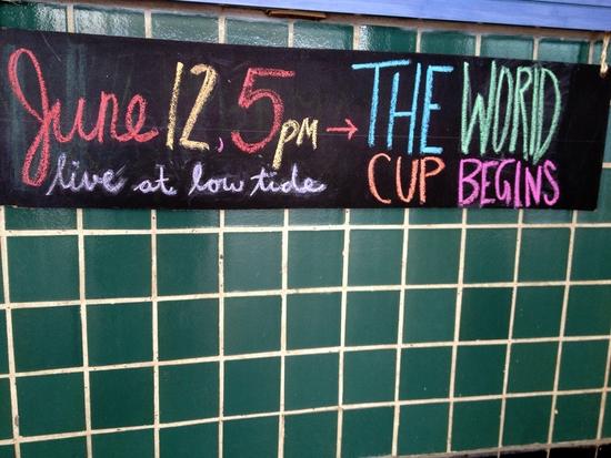 Fußball World Cup June 12