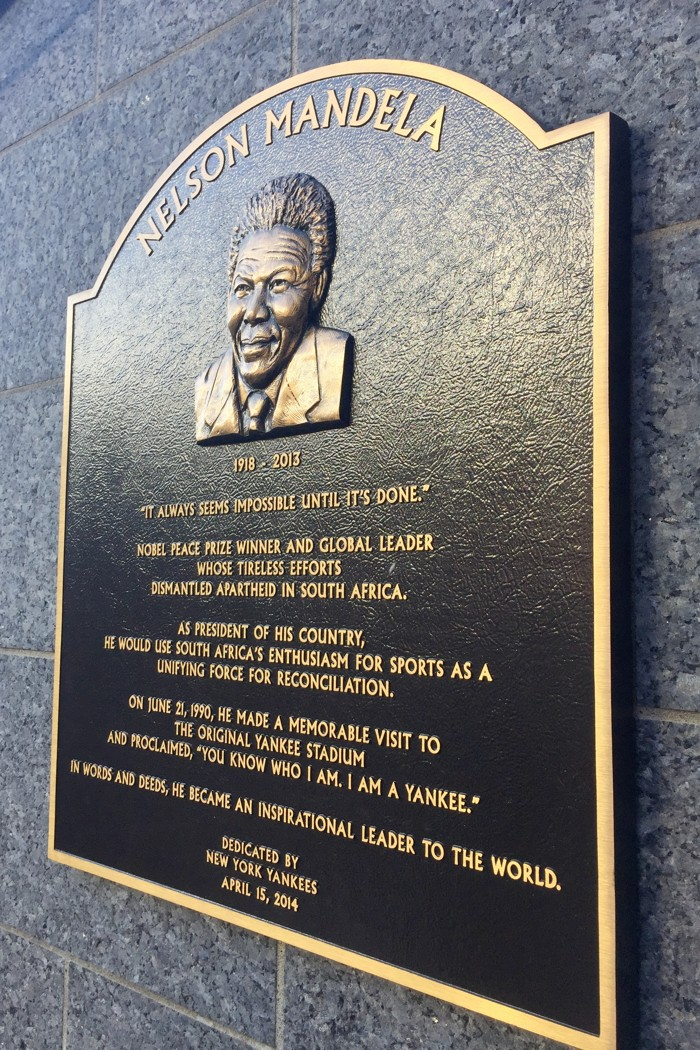Nelson Mandela Yankee Stadium