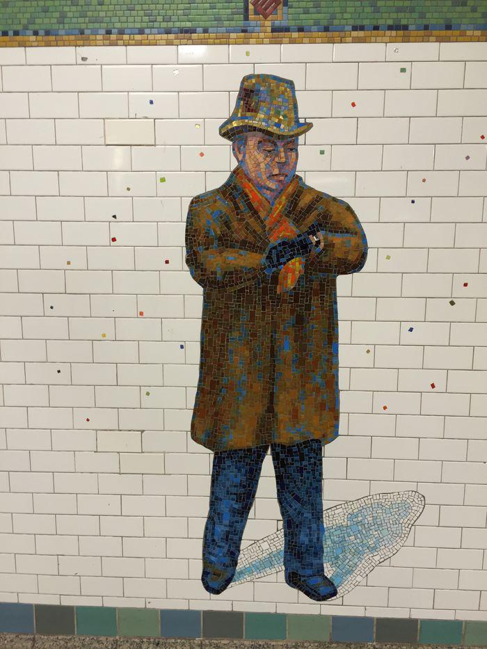 New York Minute - U-Bahn-Kunst Dickson