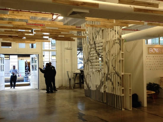 Möbelschau im Factory Floor Brooklyn