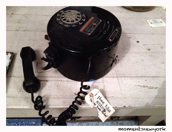 Telefon aus der Domino Sugar Factory