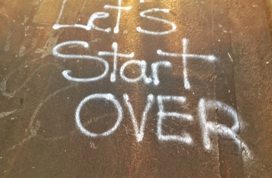 Let's start overt