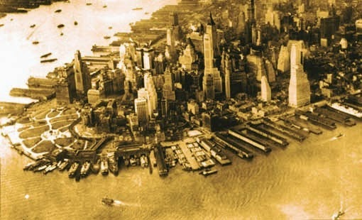 Manhattan historisch - New York History Geschichte Blog